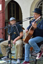 "The Cuters in Freusburg:  Peter ""Piwi"" Wenzel, Klaus Wittig"